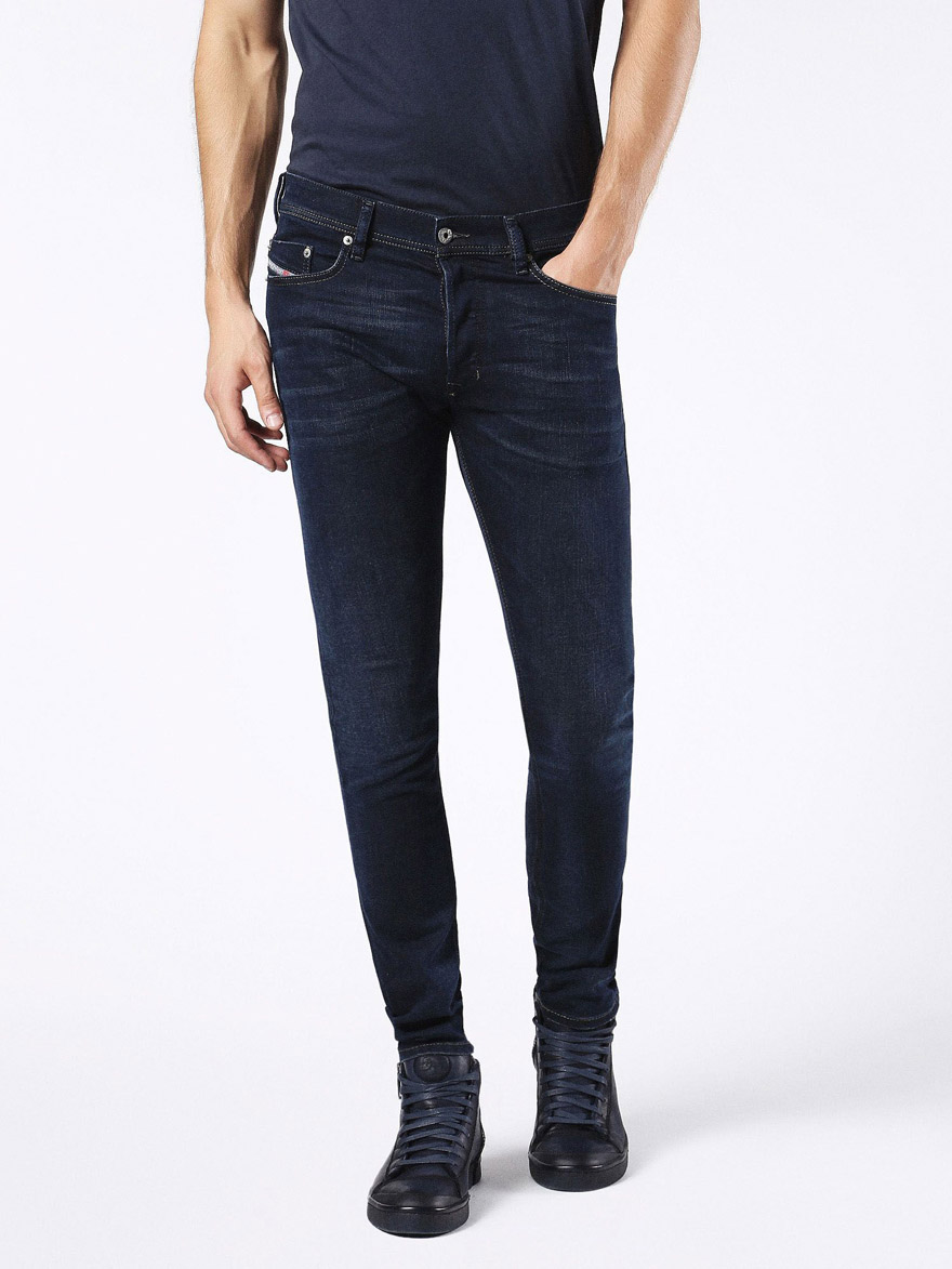 Diesel Tepphar 0857Z Slim Carrot Fit Jean Jeans, from ApacheOnline