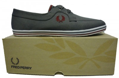 Fred Perry B9004 Drury Twill Boat Plimsoll Footwear, from ApacheOnline :  mens b9004 drury twill boat plimsoll boat shoe fred perry