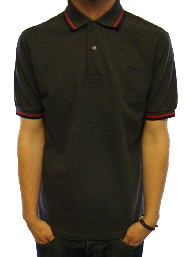 Fred Perry M1200 S/S Tipping Polo Polo Shirts, from ApacheOnline