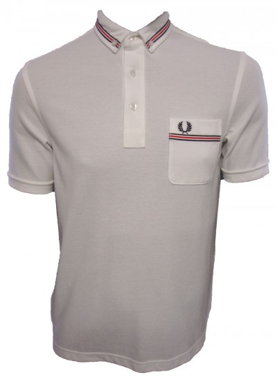Fred Perry M9326 Grosgrain Tape Polo Shirt Polo Shirts from ApacheOnline from apacheonline.co.uk