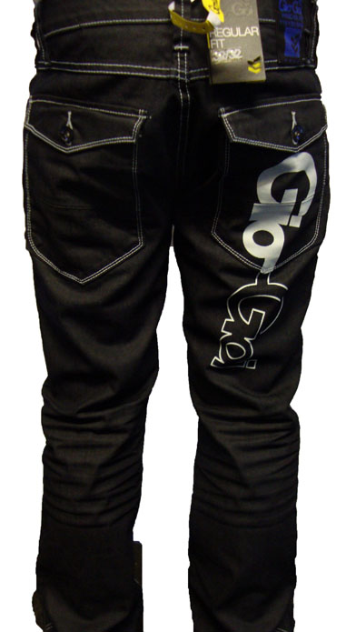 Gio Goi Demo Regular Logo Jean Jeans, from ApacheOnline :  menswear fashion gio goi demo regular logo jean