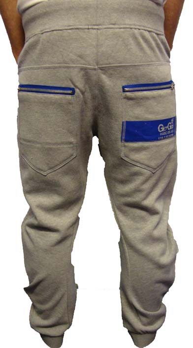 Gio Goi Recked Sweat Logo Joggers Joggers, from ApacheOnline