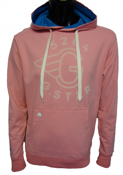 G Star Raw Coast Flocked Logo Hoody Hoodies from ApacheOnline from apacheonline.co.uk