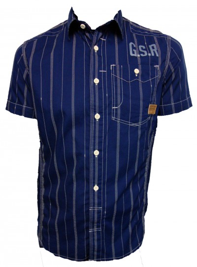 G Star Raw NE 5620 Skye Stripe Shirt Shirts from ApacheOnline from apacheonline.co.uk