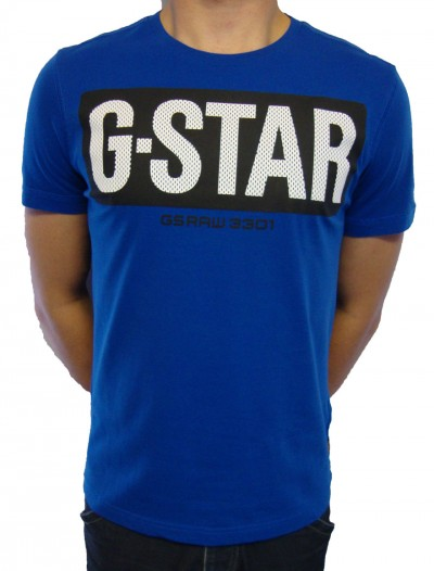 G-Star Raw Johannes Short Sleeve Logo T Shirt T-Shirts, from ApacheOnline