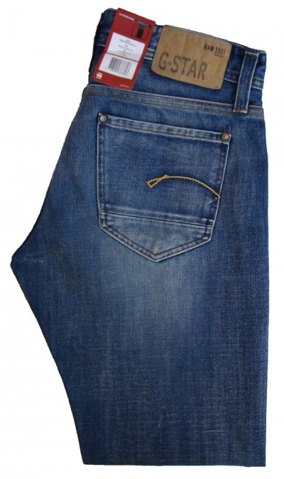 G-Star Raw Denim 50478 Porter Straight Jean Jeans, from ApacheOnline
