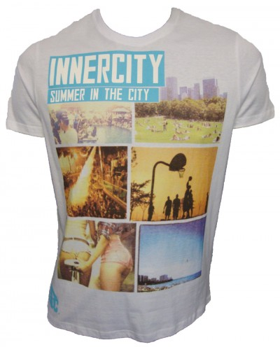 Innercity Citydayz Photo Printed T Shirt T-Shirts, from ApacheOnline :  menswear clothing apache mens