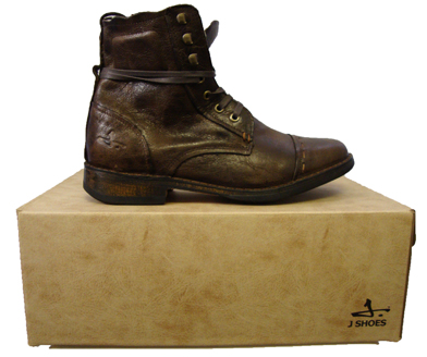 J Shoes Manor Leather Worker Boot Footwear, from ApacheOnline