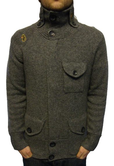 Luke 1977 Top Rankin Zip Thru Knit Knitwear, from ApacheOnline