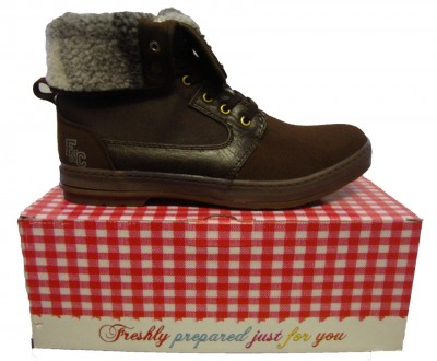 Fish n Chips Bap Fur Lined Lace Boot Footwear, from ApacheOnline