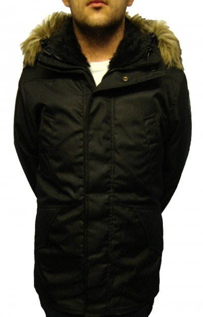 Schott NYC Alaska Parka 3 In 1 Coat Jackets, from ApacheOnline :  menswear parka clothing apache