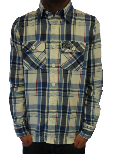 Superdry Lumberjack Twill Check Shirt Shirts, from ApacheOnline