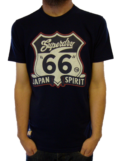 Superdry Arizona Entry S/S Logo Tee T-Shirts, from ApacheOnline
