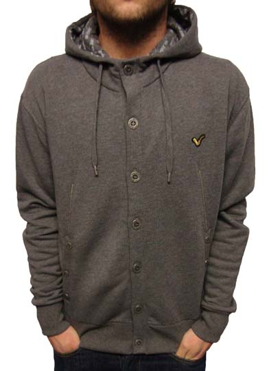 Voi Helsinki Button Thru Hoody Hoodies, from ApacheOnline