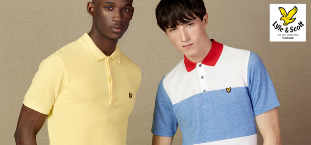 Lyle and Scott Polo Shirt Autumn Winter Collection 2013