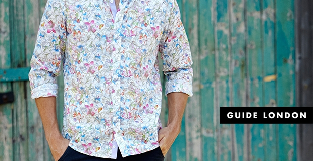 How To Wear Floral | Guide London Shirts