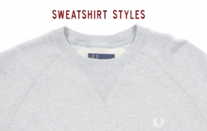 Sweatshirts by Fred Perry & Lyle and Scott