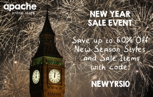 New Year Sale Event + 10% Discount Code