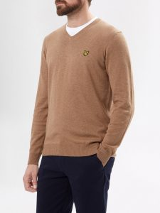 lyle-and-scott-v-neck-cotton-merino-knitwear