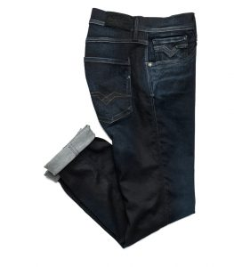 Replay Hyperflex Blue-Black jeans