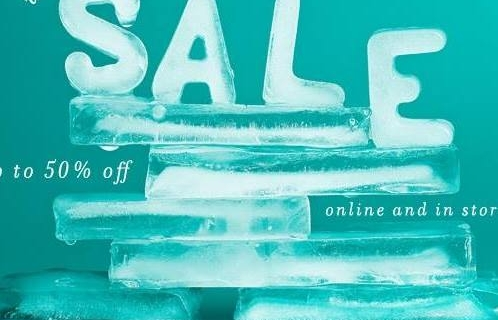 Half Price Madness In Our January Sale!!
