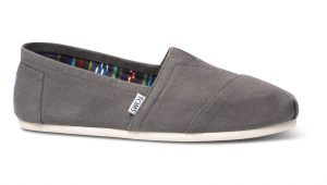 Classic Canvas Slip On Shoe by Toms