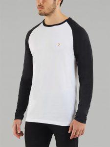 F4KS60J2 Zemlak Raglan T Shirt by Farah