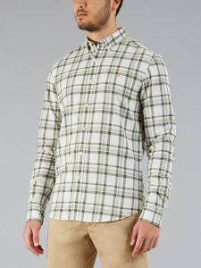 F4WS8023 Staton Check Shirt by Farah