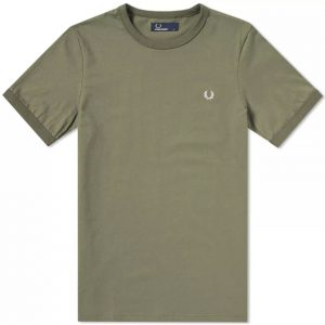 M3519 Ringer T Shirt by Fred Perry