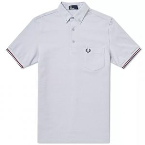 M3561 Oxford Pique Polo Shirt by Fred Perry