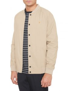 F4RS6003 Bellinger Bomber Neck Jacket by Farah