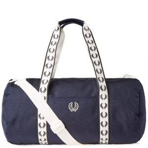 L2208 Track Barrel Bag by Fred Perry