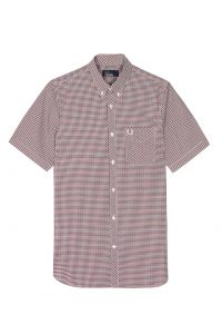 M3534 Three Colour Gingham Shirt by Fred Perry