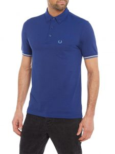 M3561 Oxford Pique Polio Shirt by Fred Perry
