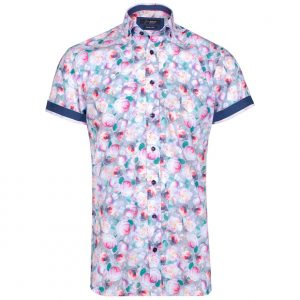 Riggle Short Sleeve Floral Shirt by Jiggler Lord Berlue