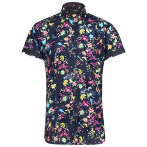 Samford Short Sleeve Floral Shirt by Jiggler Lord Berlue