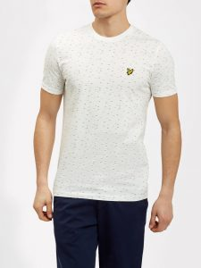 TS709V Fil Coupe T Shirt by Lyle and Scott