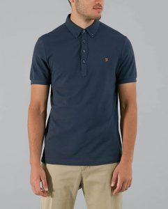 F4KS70Q1 Merriweather Short Sleeve Polo by Farah