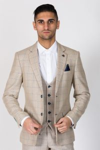 Harding Check Blazer Jacket by Marc Darcy