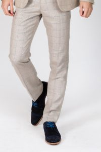 Harding Check Trouser by Marc Darcy