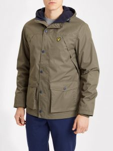 JK710V Micro Fleece Lined Jacket by Lyle and Scott