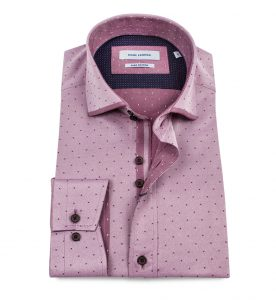 LS74333 Tonic Jacquard Shirt by Guide London