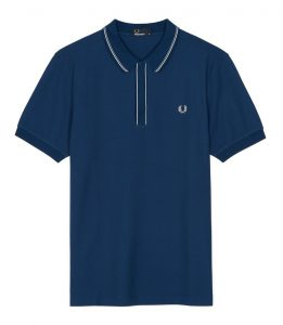 M3511 Tipped Placket Polo Shirt by Fred Perry