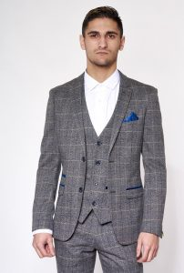 Scott Check Blazer Jacket by Marc Darcy