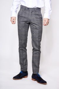 Scott Check Trouser by Marc Darcy