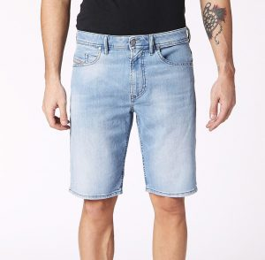 Thoshort 084QN Slim Denim Short by Diesel
