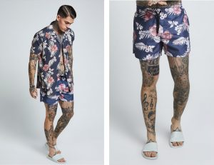Short Sleeve Resort Shirt by Sik Silk