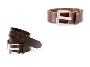 B-Star Leather Belt by Diesel