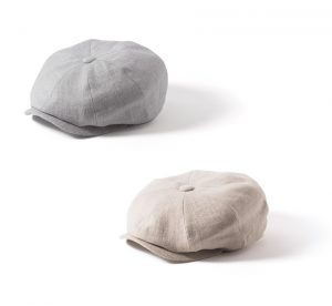 Irish Linen Mayo Baker Boy Cap by Failsworth
