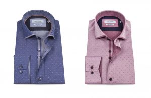 LS74333 Tonic Jacquard Shirt by Guide London